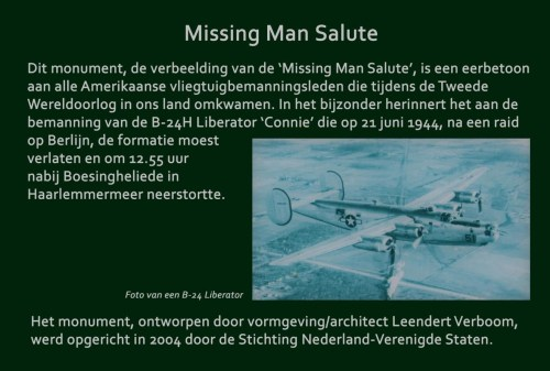 Missing Man Salute monument