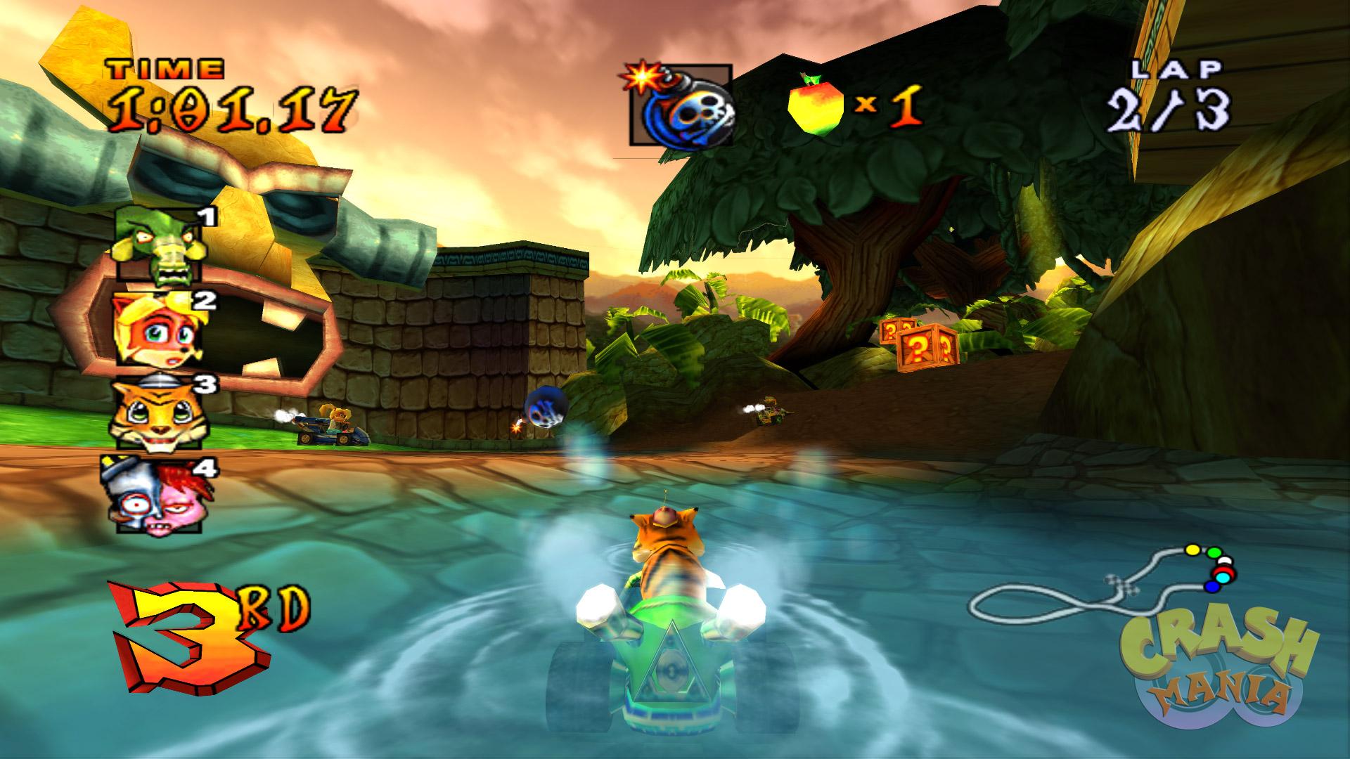 Crash Nitro Kart Screenshots Crash Mania