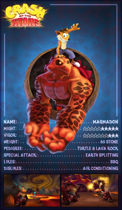 Crash Of The Titans Artwork Trading Cards Crash Mania
