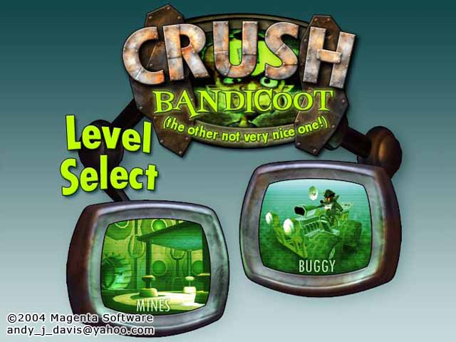 Crush Bandicoot Crash Mania