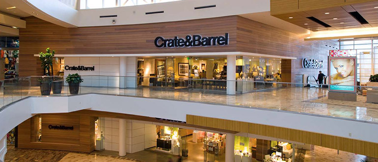 furniture store roseville ca galleria at roseville on crate and barrel id=42286