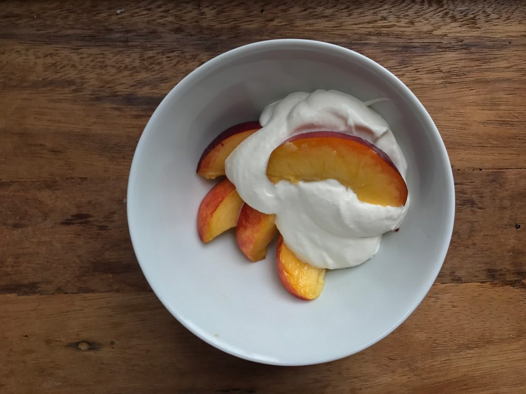 Crate Cooking Summer Easy Basic Simple Recipes Ingredients Ripe Nectarines Raspberry Compote