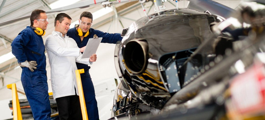 Small Items to Jet Engines: Meeting the Challenges of Aerospace Transportation