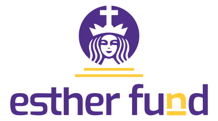 The Esther Fund logo for giving back