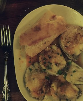 Try Baked Oysters at The Pearl