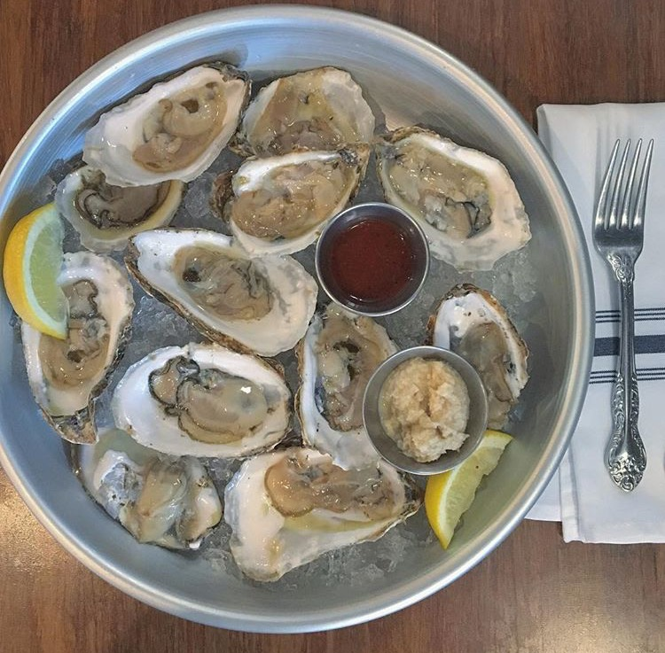 Oysters in Columbus