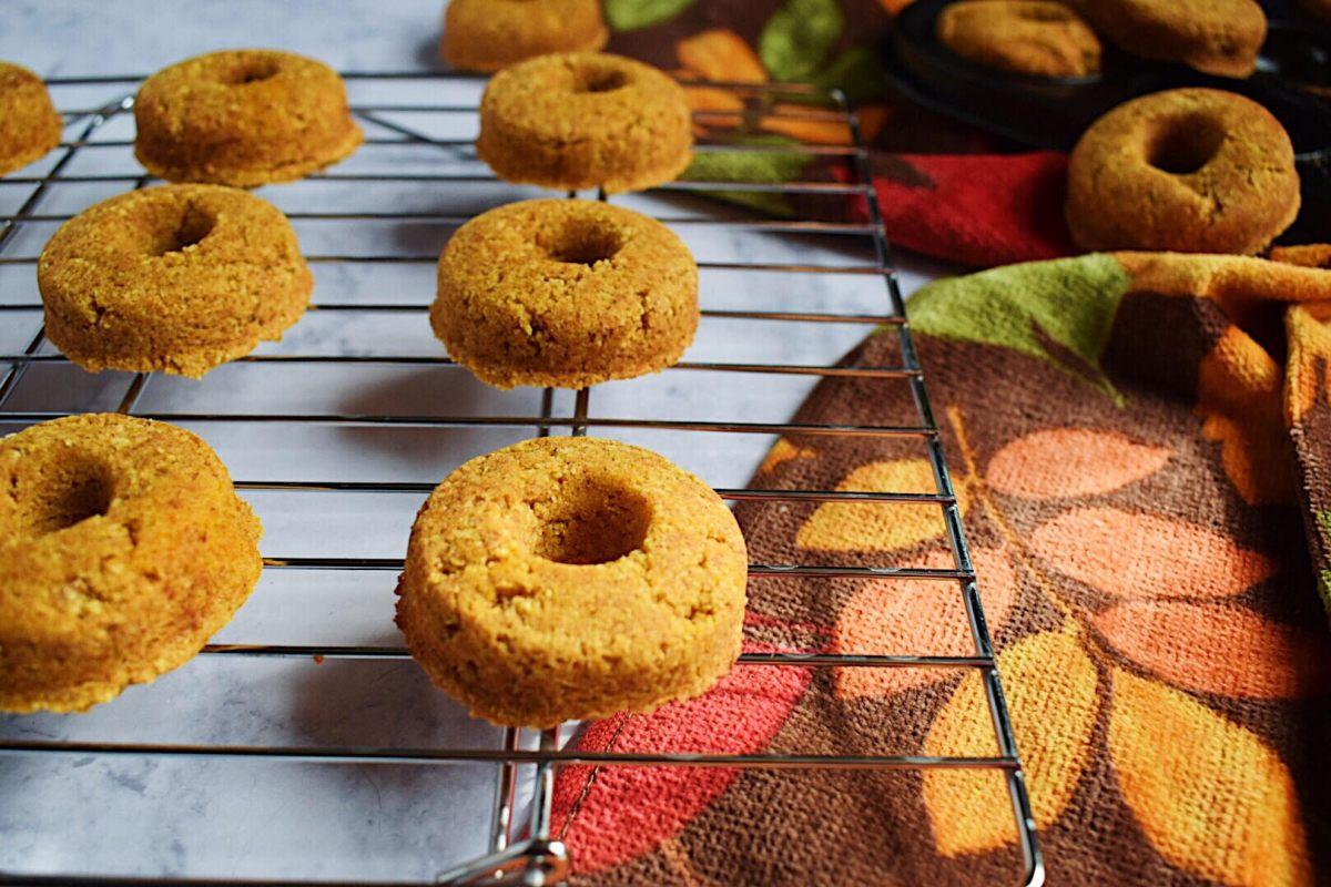 Pumpkin Spice Baked Donuts- Gluten Free!