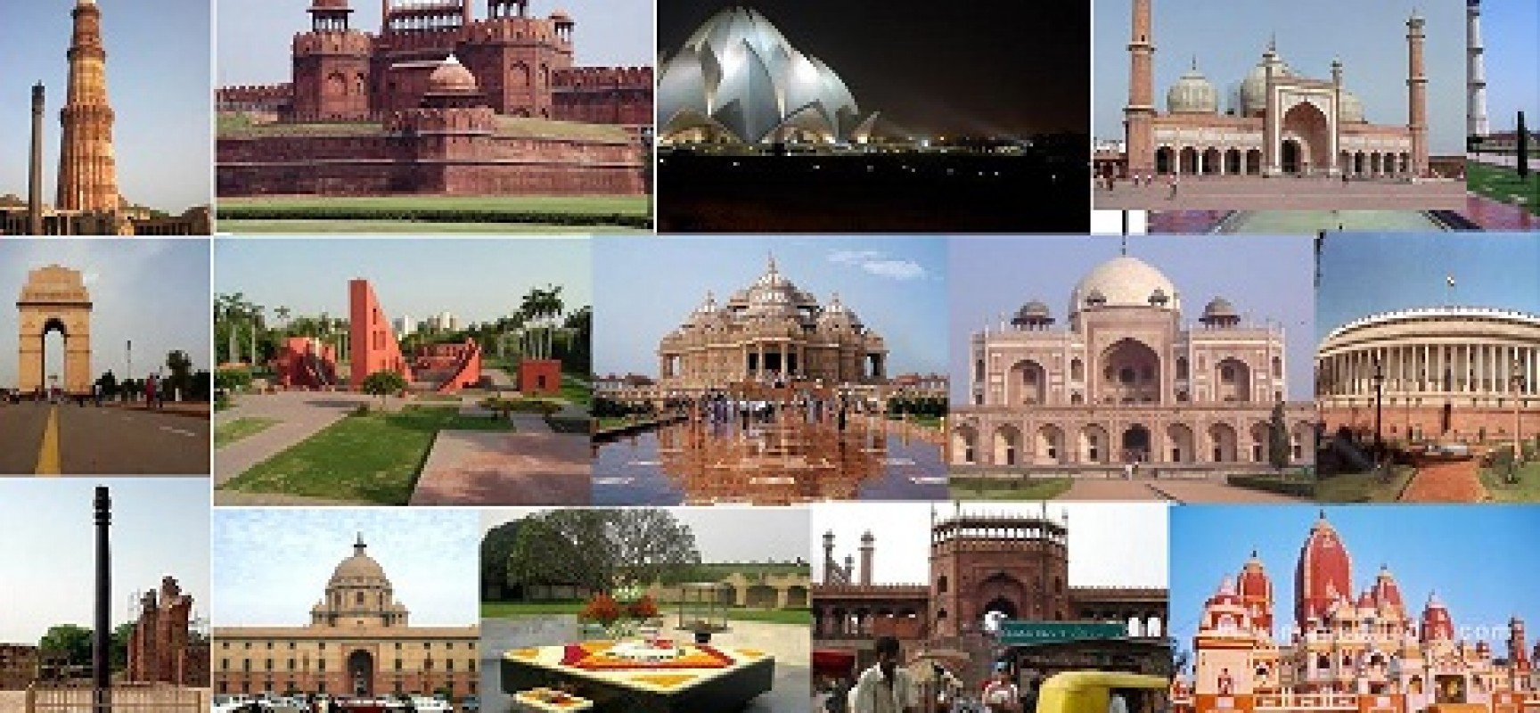 Forts in Delhi