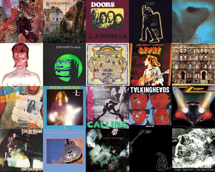 Top 20 Guitar Albums