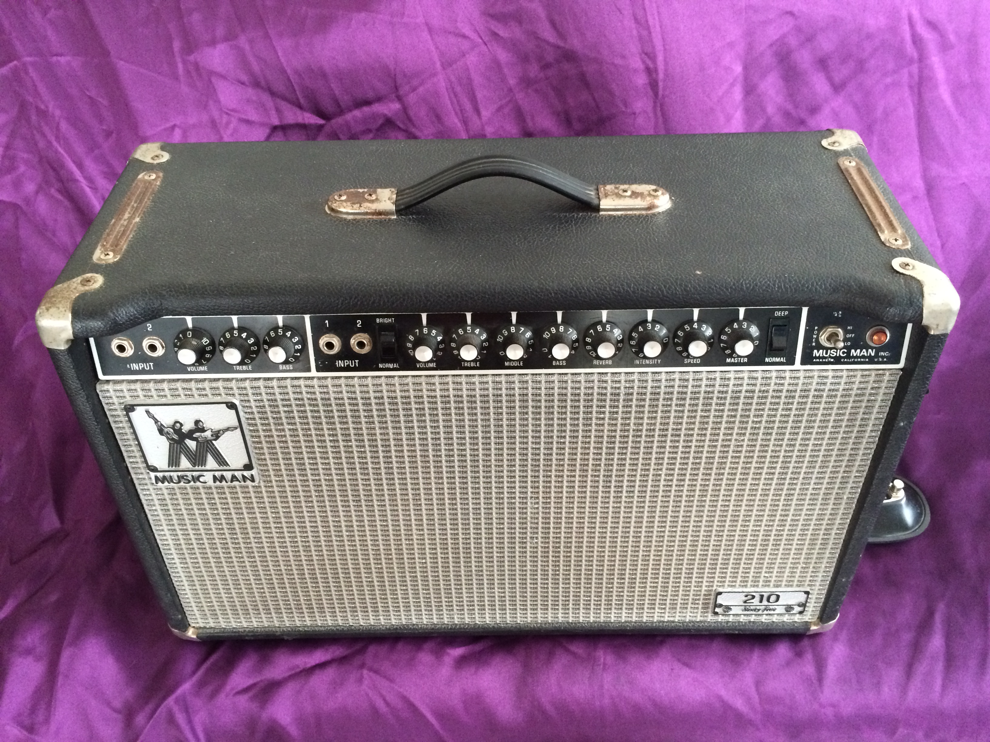 1970s Music Man 210-Sixty Five