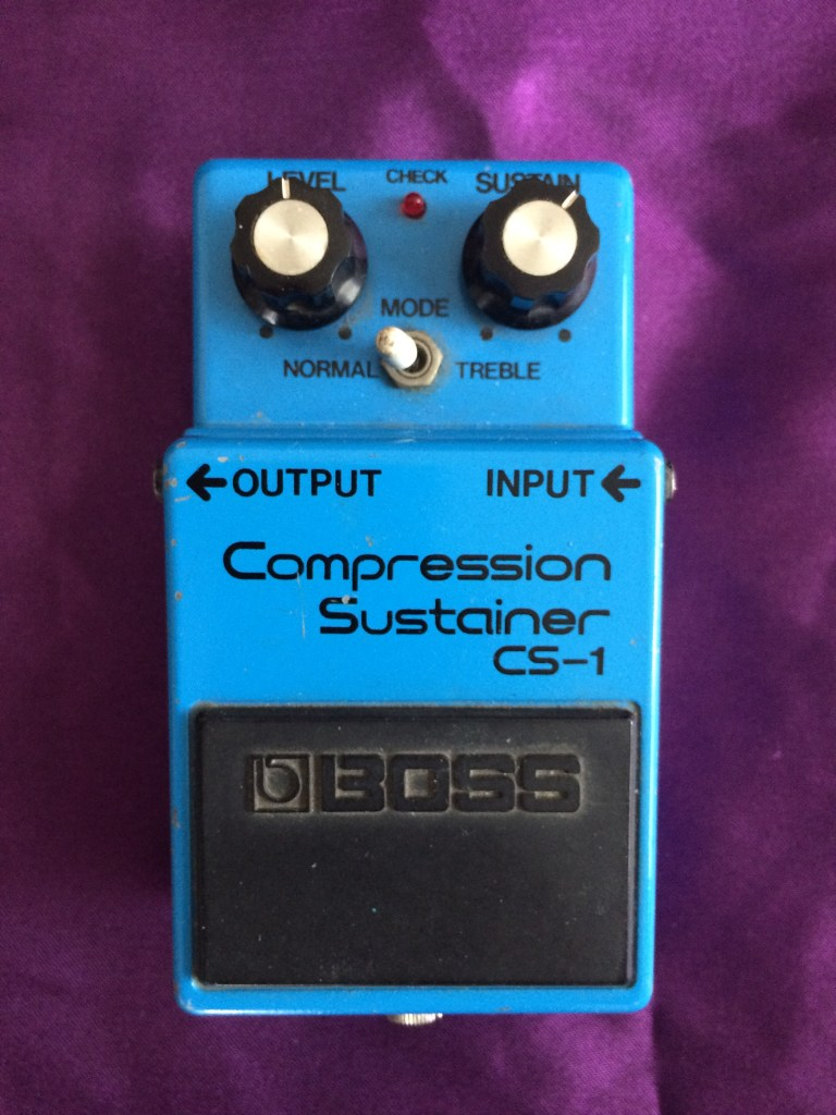 1980s BOSS CS-1 Compression Sustainer