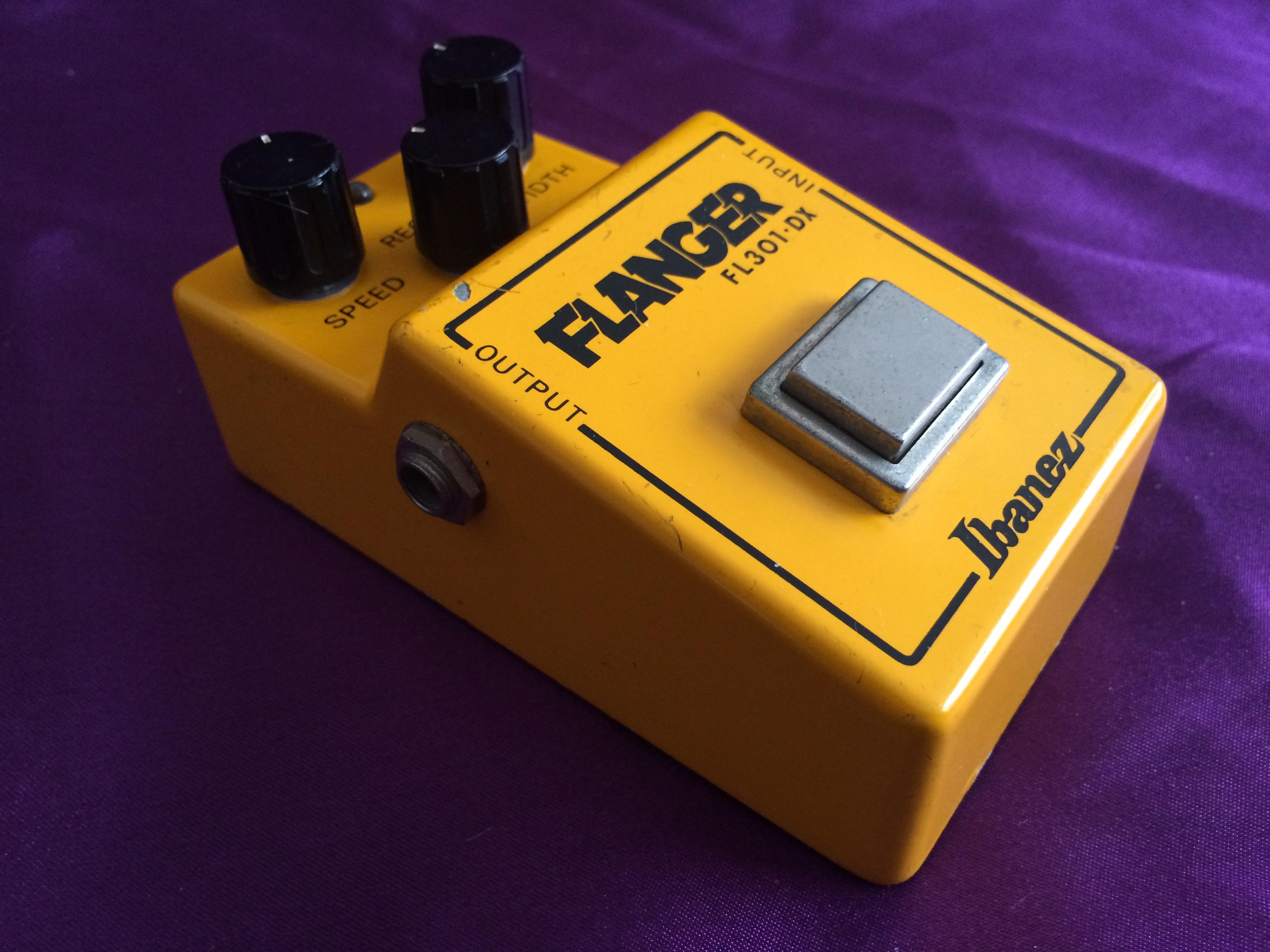 1981 Ibanez FL301-DX Flanger