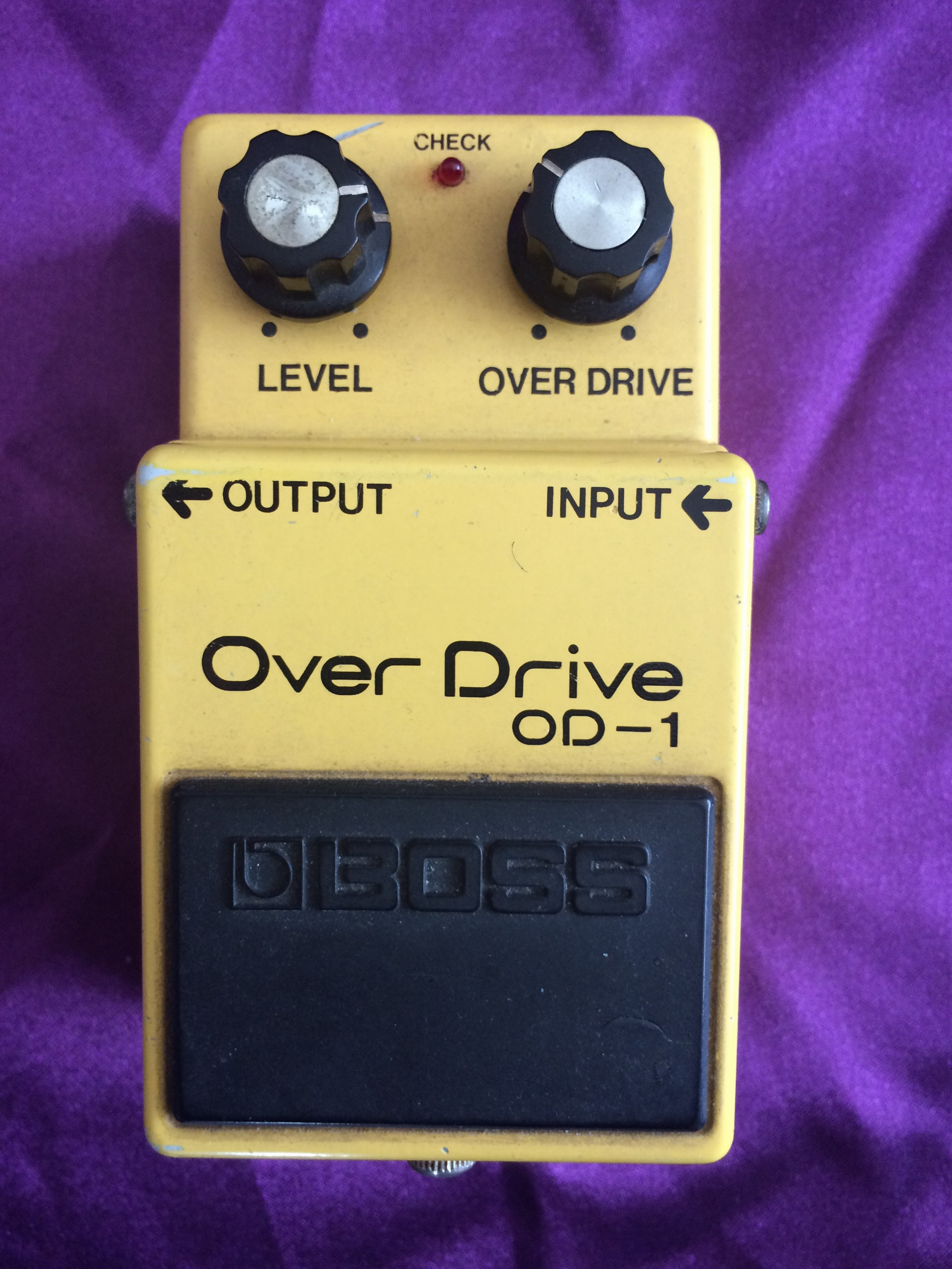 1980 BOSS OD-1 Over Drive