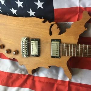 1983 Gibson USA Map