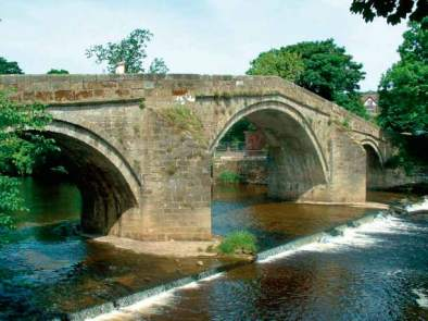 Ilkley Old Stone Bridge