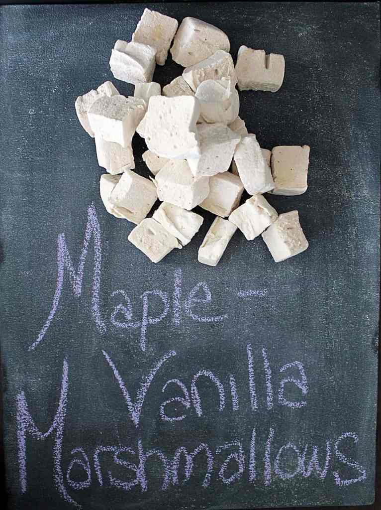 Maple Vanilla Marshmallows | Cravethegood.com Although they seem daunting to make, homemade marshmallows are a lot easier than you'd think and definitely worth the effort!