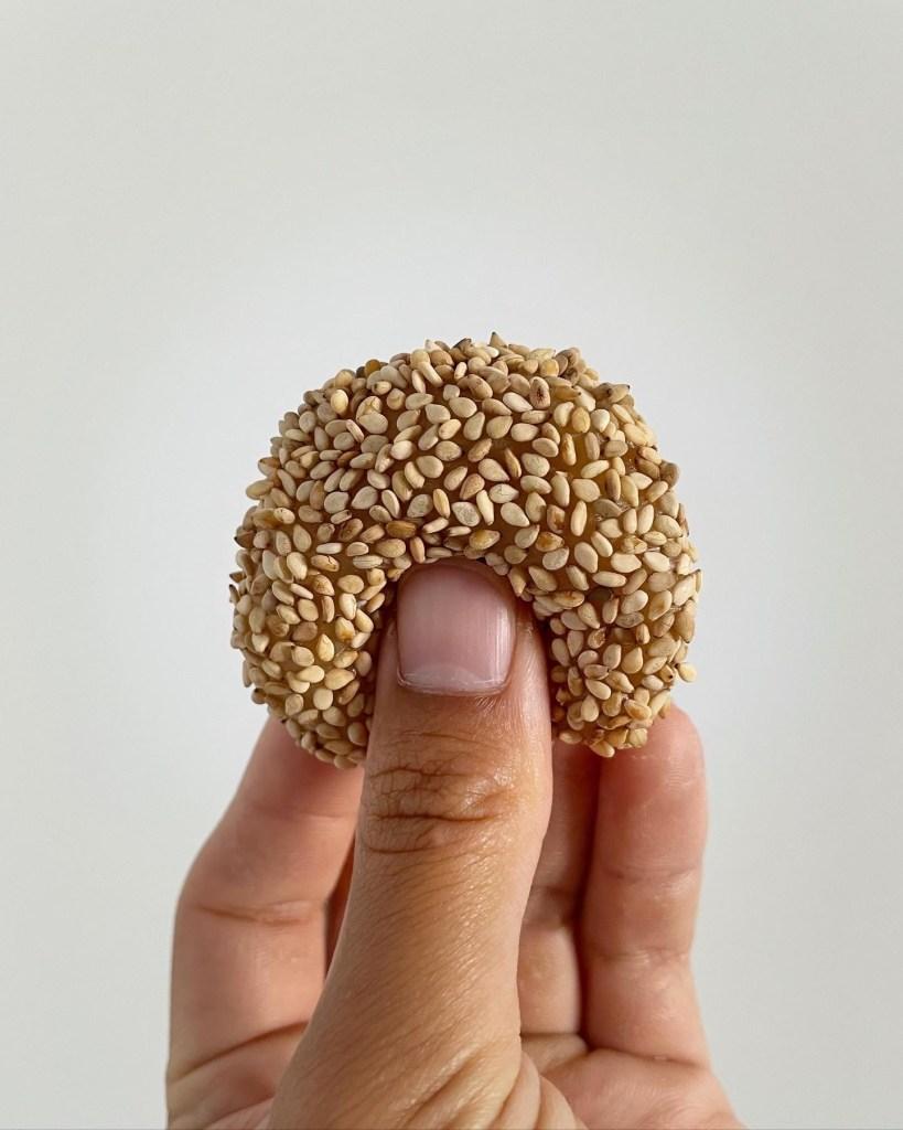 Quick & Easy Honey Sesame Mochi