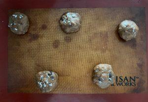 Honeycomb Dark Chocolate Sea Salt Brown Butter Cookies