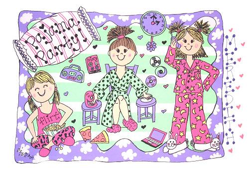 pajama-party-malia