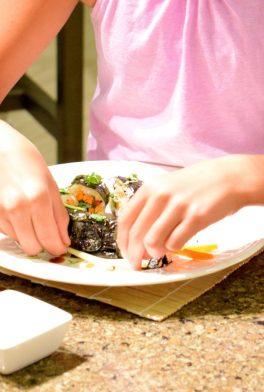 Kid's Sushi Class 7.25.15-079
