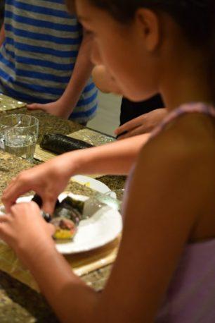 Kid's Sushi Class 7.25.15-109