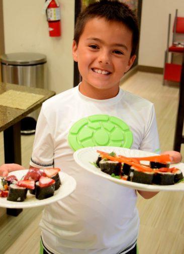 Kid's Sushi Class 7.25.15-147