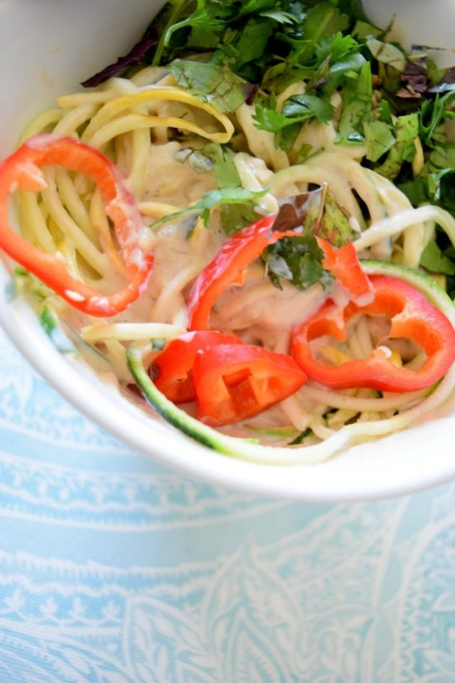 Raw Asian Noodle Salad-003