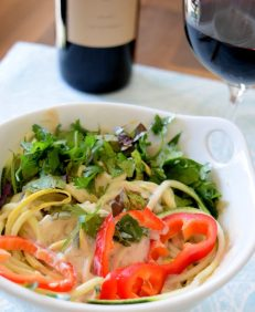 Raw Asian Noodle Salad-004