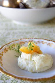Herbed Lemon Parsnip Mousse