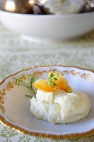 Herbed Lemon Parsnip Mousse