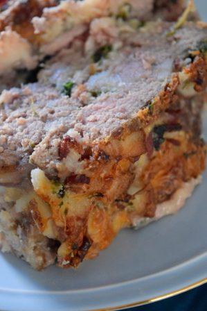 Italian Bacon Meatloaf-005