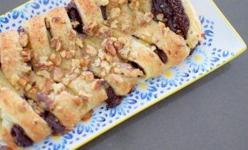 Chocolate Pastry Braid-012