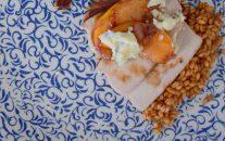 Honeyed Wine Peaches & Pork-019