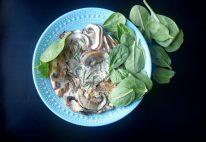 Pomegranate Rosemary Mushroom Fritatta-012