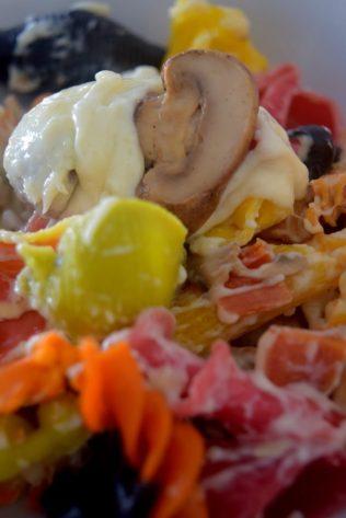 Truffle Mushroom Mac n' Cheese-016