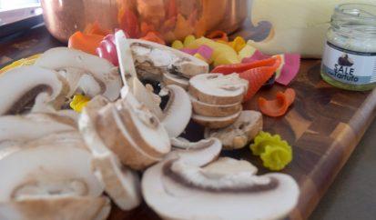 Truffle Mushroom Mac n' Cheese