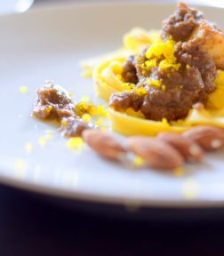 Earthy Almond Olive Tapenade Pasta-023