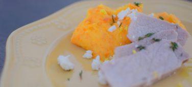 Lemon Carrot Mash and Roasted Pork Loin-008
