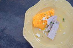 Lemon Carrot Mash and Roasted Pork Loin-012