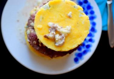 Blue Cheese Corn Cake Burger Beacon-009