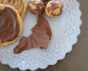 Chocolate Peanut Butter Slicks-012