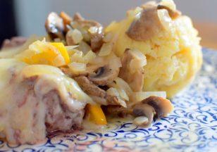 Lemon Swiss Burger Mushroom Melt-011