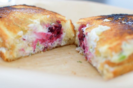 Blackberry Serrano Sourdough Grilled Cheese Sandwich-008
