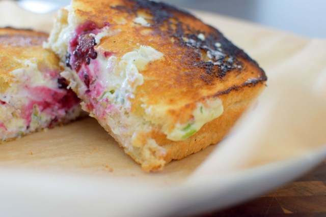 Blackberry Serrano Sourdough Grilled Cheese Sandwich-011