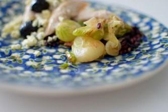 Warm Summer Onion & Rice Salad-006