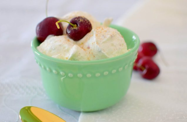 Pistachio Nutmeg Black Cherry Ice Cream-019