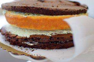Rustic Pistachio Choclolate Vanilla Layer Cake-007