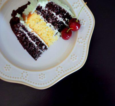 Rustic Pistachio Choclolate Vanilla Layer Cake-016