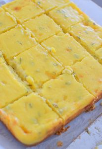 Sweet and Savory Havarti Cheesecake Bars-021
