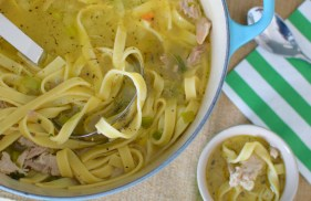 Hearty Chicken Noodle Soup-013